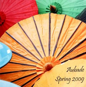 Aubade Spring 2009 cover